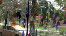REAP STREET - Dennis Peabody, glass installation